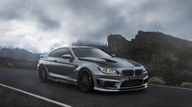 bmw, m6, f13 side view - wallpapers, picture