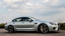bmw, m6, gran coupe, side view, gray - wallpapers, picture