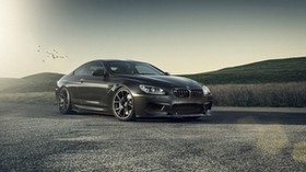 bmw, m6, gts, f13, vorsteiner, black, style, auto - wallpapers, picture