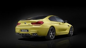 bmw, m6, side view, yellow - wallpapers, picture