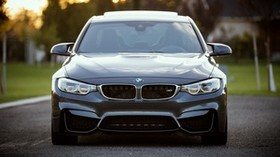 bmw, front view, car - wallpapers, picture