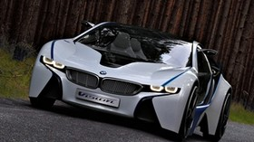 bmw, vision, efficientdynamics, concept, front view - wallpapers, picture