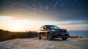 bmw, x1, f49, side view, crossover - wallpapers, picture