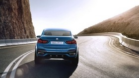 bmw, x4, concept, rear view, turn - wallpapers, picture
