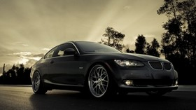 bmw x6, bmw, side view, black, speed - wallpapers, picture