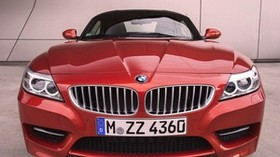 bmw z4, 2014, bmw, red, front bumper - wallpapers, picture