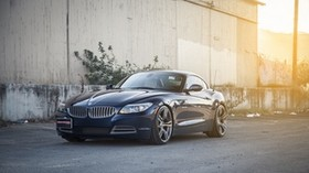 bmw, z4, avant garde, black, side view - wallpapers, picture