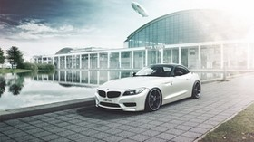 bmw, z4, airship, side view, car - wallpapers, picture