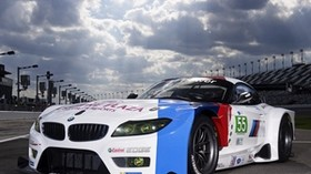 bmw, z4, gte, race car - wallpapers, picture