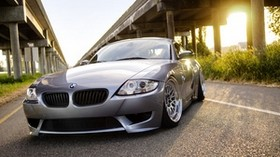 bmw, z4, silver, front bumper - wallpapers, picture