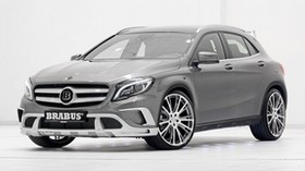 brabus, crossover, mercedes-benz, gla, tuning - wallpapers, picture