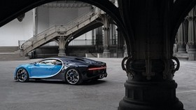 bugatti, chiron, side view - wallpapers, picture