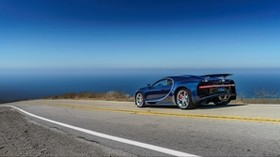 bugatti, chiron, side view, road - wallpapers, picture