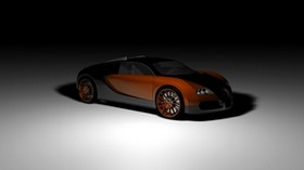 bugatti, veyron, concept, auto, side view, shadow - wallpapers, picture
