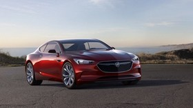 buick, avista, concept, red, side view - wallpapers, picture