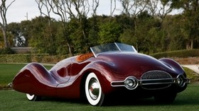 buick, streamliner, 1949, buick, streamliner, retro, auto, convertible - wallpapers, picture