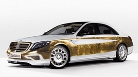 c550 versailles, mercedes, 2015, tuning, side view - wallpapers, picture