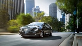 cadillac, elr, speed, motion - wallpapers, picture