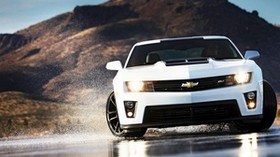 chevrolet camaro, auto, machine, cars, cars, spray - wallpapers, picture
