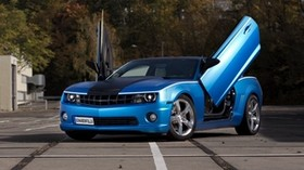 chevrolet camaro, auto, machine, cars, cars, doors - wallpapers, picture