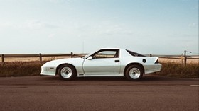 chevrolet camaro, chevrolet, car, side view, white - wallpapers, picture