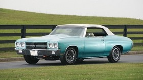 chevrolet, chevelle, 1970, side view - wallpapers, picture