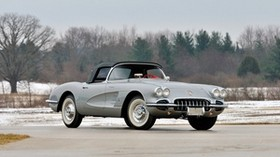 chevrolet, corvette, car, side view - wallpapers, picture
