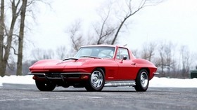 chevrolet, corvette, sting ray, l71, 1967 - wallpapers, picture