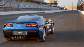 chevrolet, corvette, stingray, c7, indy 500, pace car - wallpapers, picture