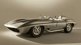 chevrolet, corvette, stingray, concept car, 1959 - wallpapers, picture