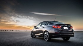 chevrolet, cruze, side view, black - wallpapers, picture