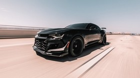 chevrolet zl1, chevrolet, car, sports, coupe, black, speed - wallpapers, picture