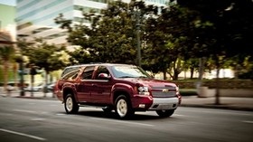 chevy, suburban, 2013, half ton, exterior - wallpapers, picture