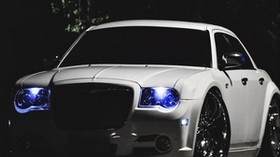 chrysler 300c, chrysler, car, xenon, tuning - wallpapers, picture