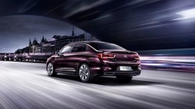 citroen, ds, 5ls, side view, night, movement - wallpapers, picture