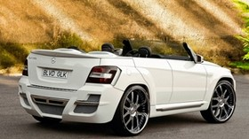 custom, custom, convertible, urban whip, glk 350, boulevard customs, mercedes benz, cabrio - wallpapers, picture