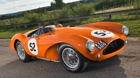 db3s, aston martin, 1953, front view - wallpapers, picture