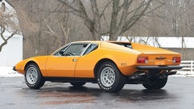 de tomaso, pantera, auto, orange - wallpapers, picture
