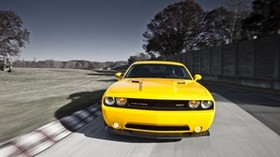 dodge challenger, srt8 392, auto, style, yellow, speed - wallpapers, picture