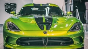 dodge viper, dodge, sports car, front view, motor show - wallpapers, picture