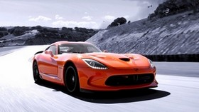dodge viper, speed, car - wallpapers, picture