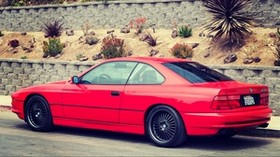 e31, bmw, 1997, 850ci, side view - wallpapers, picture