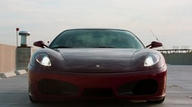 f430, ferrari, red, sky, ferrari - wallpapers, picture