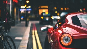 headlight, auto, blur - wallpapers, picture