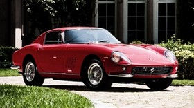 ferrari 275, ferrari, gtb, 1964, red, side view - wallpapers, picture