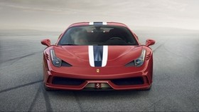 ferrari 458 speciale, ferrari, red, front view - wallpapers, picture