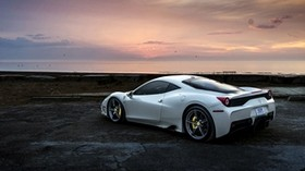 ferrari, 458, side view - wallpapers, picture