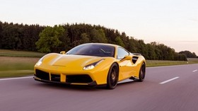 ferrari, 488 gtb, novitec, rosso - wallpapers, picture