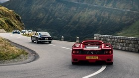 ferrari 575m maranello, ferrari, sports car, motion, motion blur - wallpapers, picture