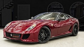 ferrari, 599 gto, side view, sports car - wallpapers, picture